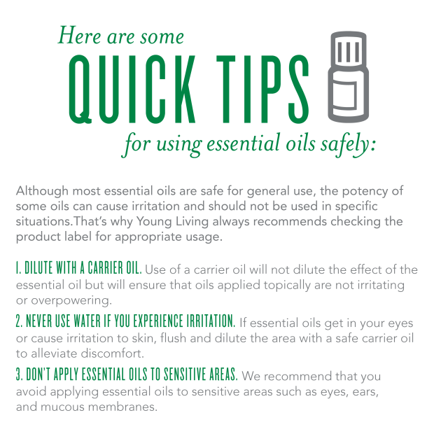 Young Living Oils Safety Tips