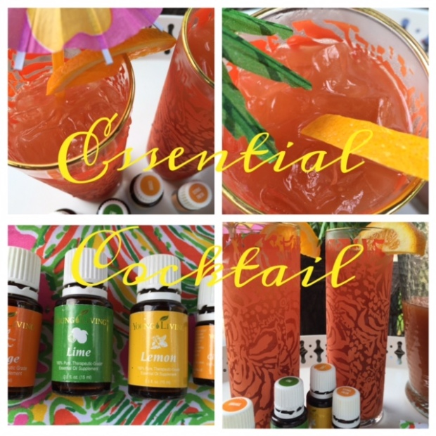 Ningxia Rum Punch #EssentialCocktail #youngliving #yleo